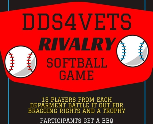 DDS4VETS Rivalry Softball Game
